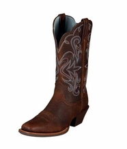 Ariat Women's Legend Boots - Brown-Oiled Rowdy (Closeout)