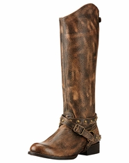 Ariat Women's Manhattan Round Toe Boots - Brown