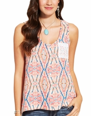 Ariat Women's Marian Sleeveless Print Tank Top - Multi