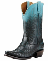 Ariat Women's Ombre Snip Toe Boots - Blue