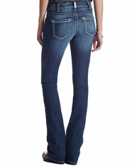 Ariat Women's Real Low Rise Flare Jeans - Baltic