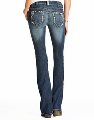 Ariat Women's Real Low Rise Slim Fit Boot Cut Riding Jeans - Chloe
