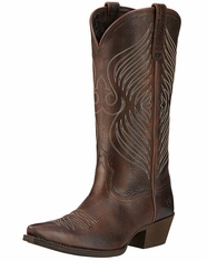 Ariat Women's Round Up X Toe Boots - Wicker (Closeout)