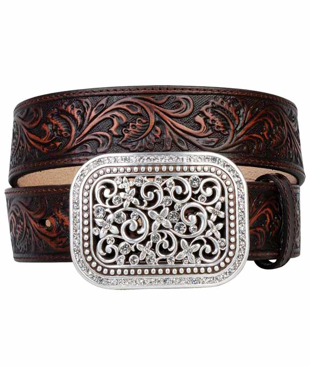 ariat-women-s-tooled-belt-with-rhinestone-filigree-buckle-brown-114811.jpg f07f7175c7
