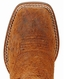 Ariat Youth Outrider Square Toe Boots - Grizzly Oak/Wood
