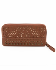 Bandana by American West Women's Mesa Zip Around Wallet