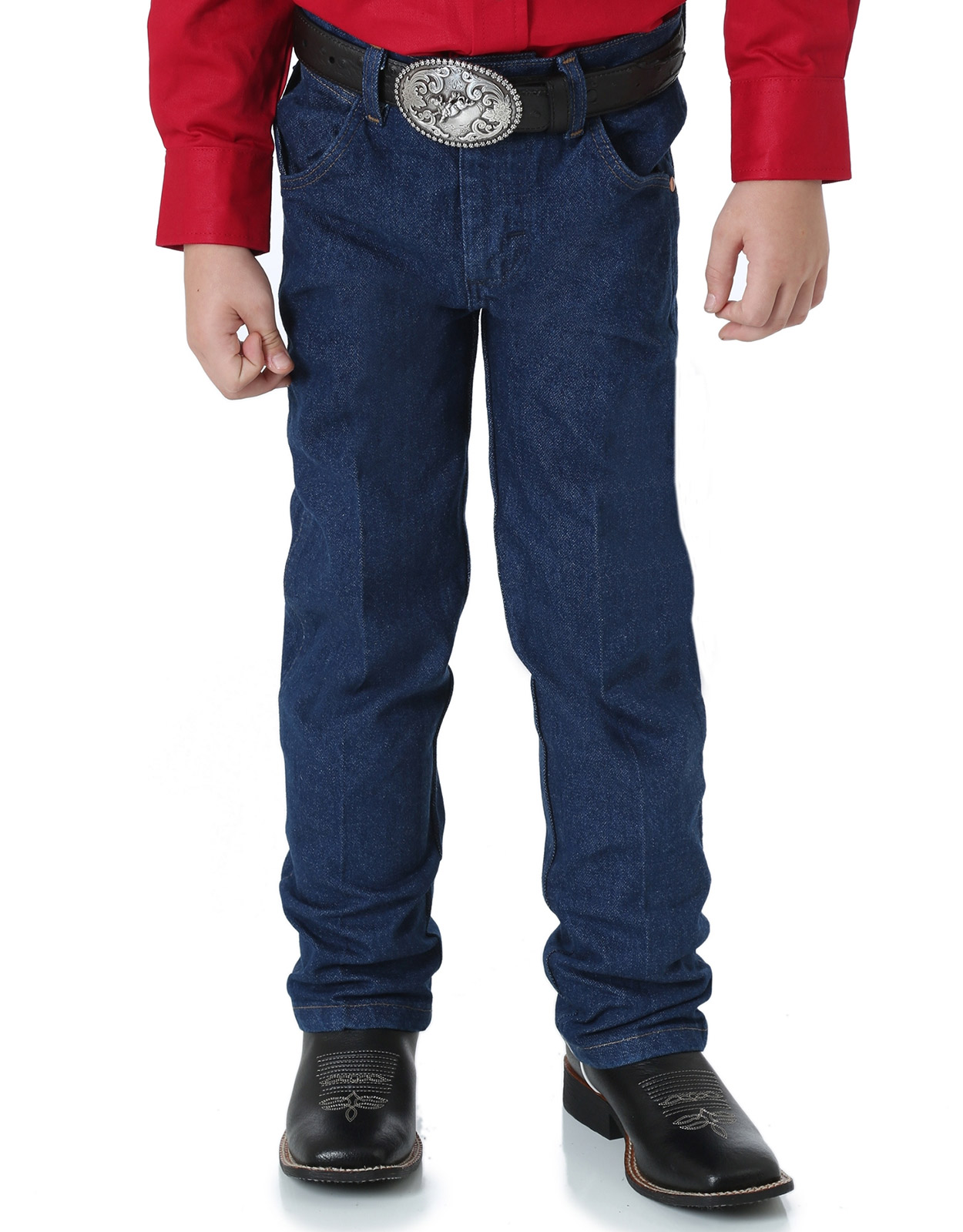 Boys' Wrangler Jeans - Cowboy Cut Original Fit Prewashed (Sizes 1T-7)
