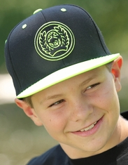 Cinch Boy's Logo Cap - Black
