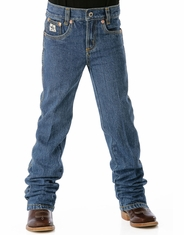 Cinch Boy's Original Fit Jean (Sizes 4-7) - Medium Stonewash