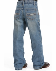 Cinch Boy's Tanner Jeans (Sizes 4-7) - Medium Stonewash