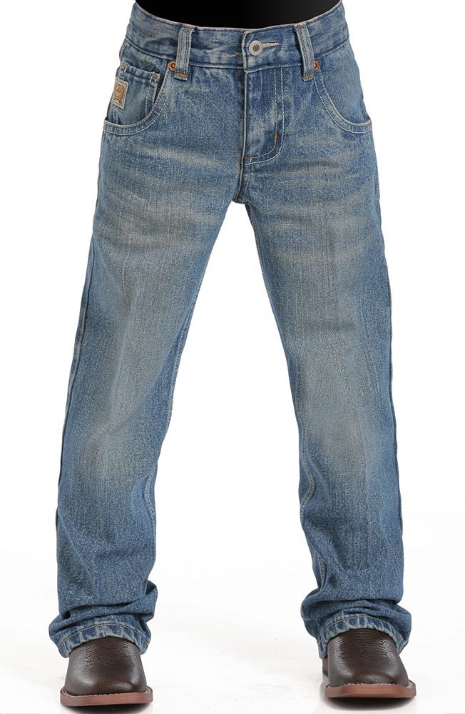 5b0412fa8fb Cinch Boys Tanner Relaxed Fit Boot Cut Jeans (sizes 8-18) - Stonewash