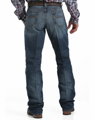 Cinch Men's Carter Performance Mid Rise Relaxed Fit Boot Cut Jeans - Medium Stonewash (Closeout)