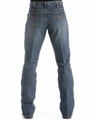 Cinch Men's Dooley Mid Rise Relaxed Fit Boot Cut Jeans - Dark Stonewash