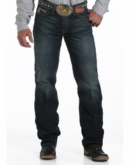 Cinch Men's Grant Mid Rise Relaxed Boot Cut Jean - Dark Stonewash (Closeout)