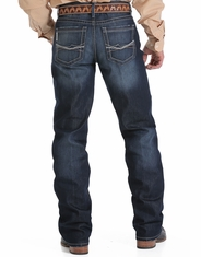 Cinch Men's Grant Mid Rise Relaxed Fit Boot Cut Jeans - Dark Stonewash