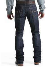 Cinch Men's Ian Mid Rise Slim Fit Boot Cut Jeans - Rinse