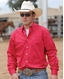 Cinch Men's Modern Fit Long Sleeve Solid Button Down Shirt - Pink (Closeout)
