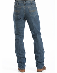 Cinch Men's Silver Label Mid Rise Slim Fit Straight Leg Jeans - Medium Stonewash