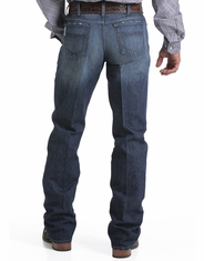 Cinch Men's White Label Mid Rise Relaxed Fit Straight Leg Jean - Dark Stonewash