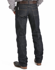 Cinch Men's White Label Mid Rise Relaxed Fit Straight Leg Jeans-Dark Rinse (Closeout)