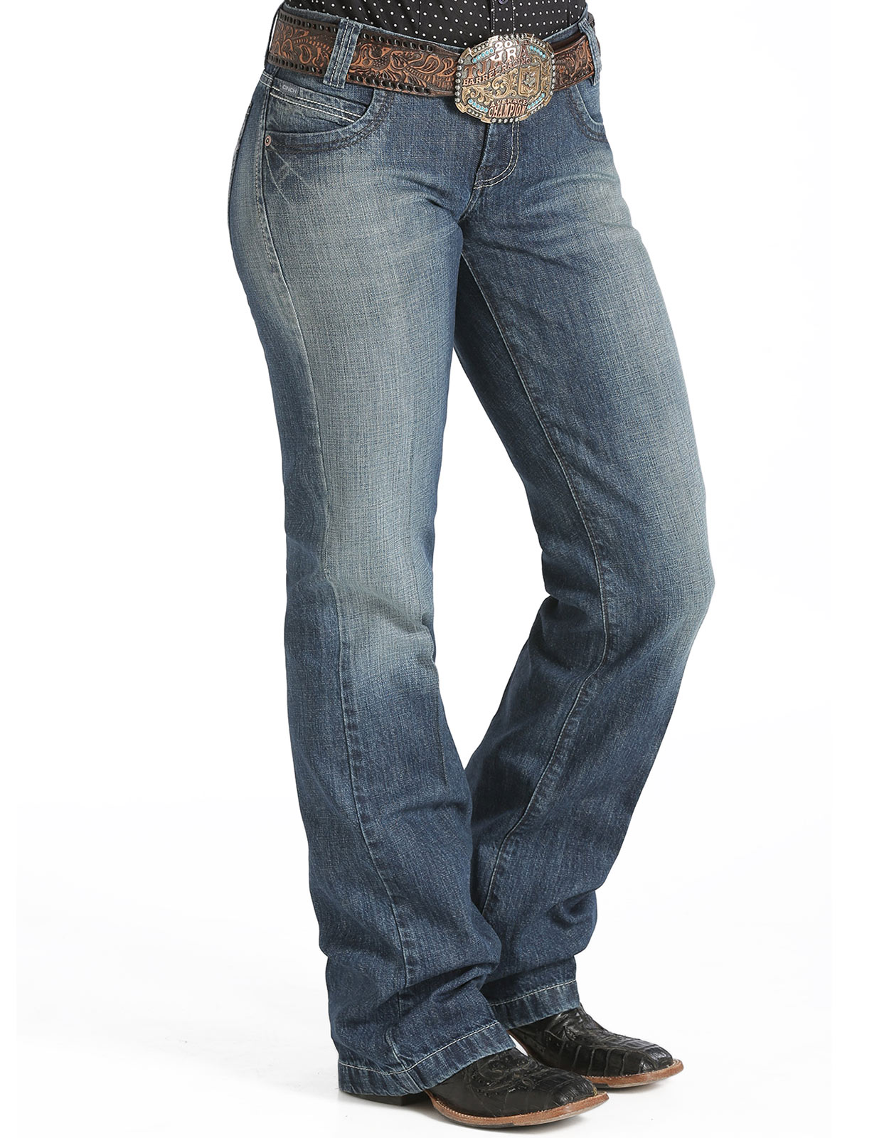 Images of Womens Loose Fit Jeans