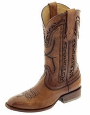 Corral Men's Laser & Whipstitch 13