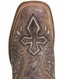 Corral Mens Wing and Cross Square Toe Rodeo Cowboy Boots - Tabacco/Bone