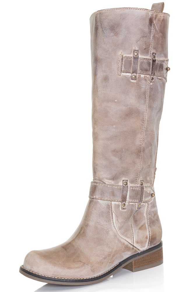 Corral Womens Tall Top Cowboy Boots - Taupe