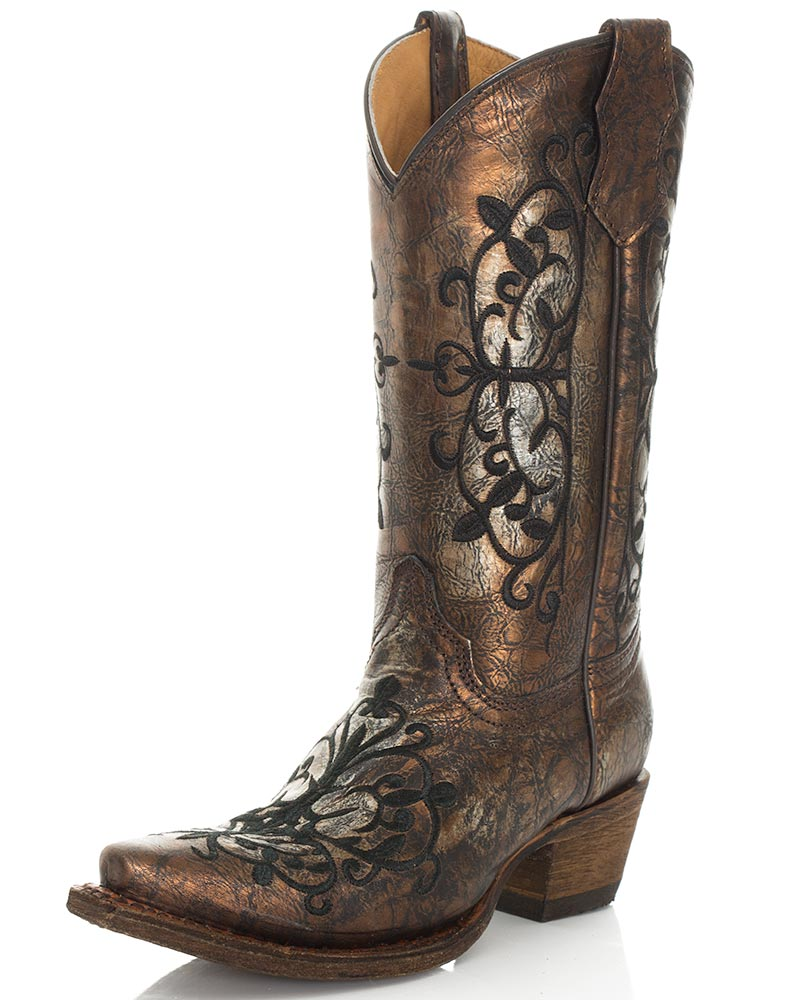 Corral Youth Embroidered Metallic 10