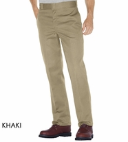 Dickies 874 Original Plain Front Twill Work Pants - Khaki