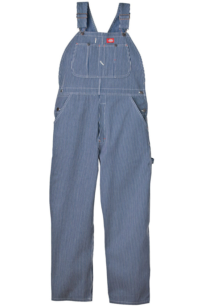 Dickies Men's Hickory Stripe Bib Overalls