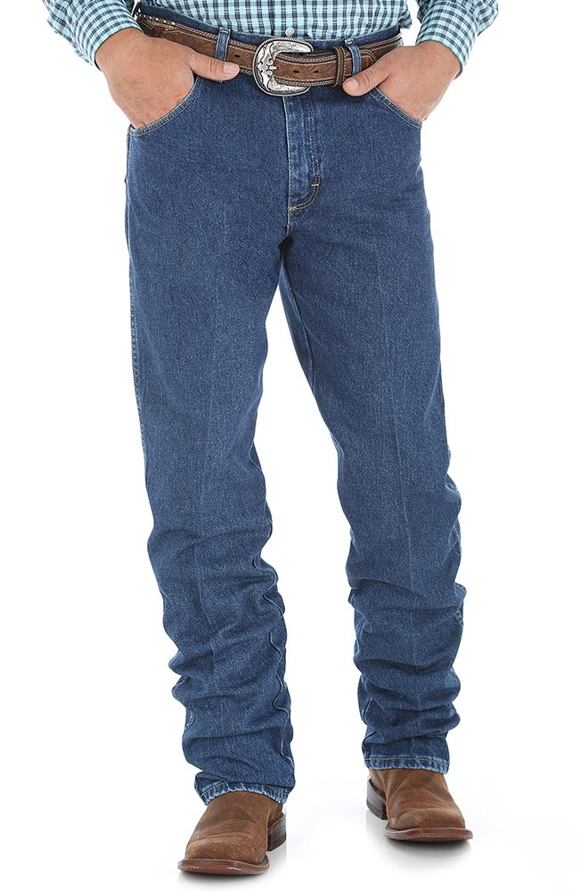 Wrangler Men's George Strait 31 Relaxed High Rise Relaxed Fit Boot Cut Jeans - Heavy Stone Denim