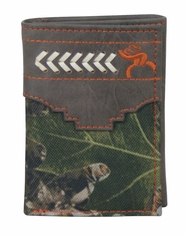 Hooey Men's Signature Roughy Tri-Fold Wallet - Camo
