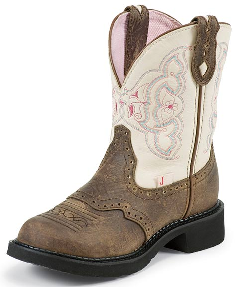 Justin Cowboy Boots Women's 8