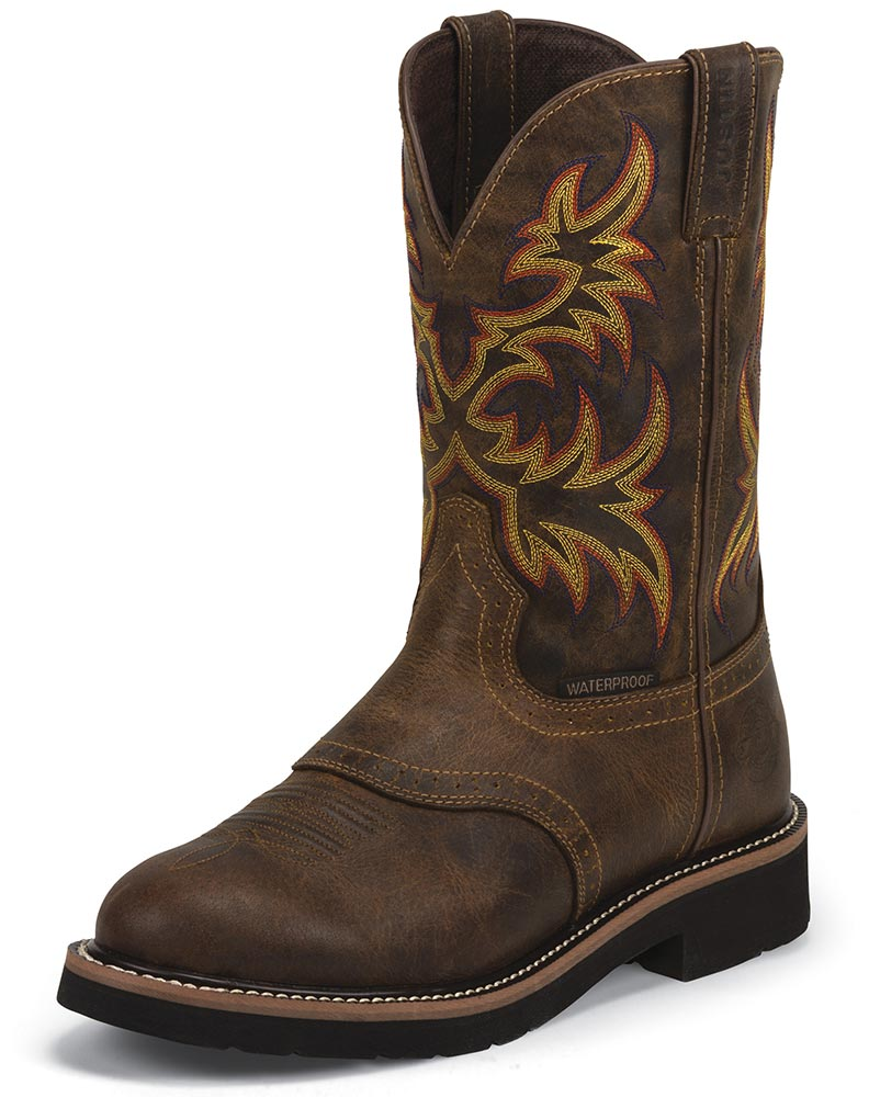Justin Work Boots For Men Coltford Boots