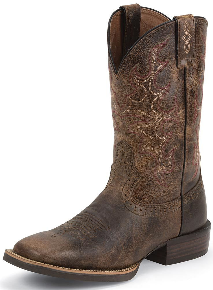 Justin Cowboy Boots Coltford Boots