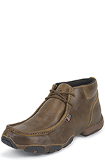 Justin Mens Chukka - Tan Distressed