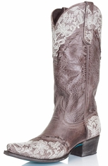 Lane Women's Cowboy Boots - Jani Lace (Closeout)