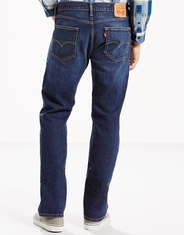 Levi's Men's 505 Regular Stretch Mid Rise Regular Fit Straight Leg Jeans - Hawker