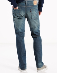 Levi's Men's 513 Slim Straight Stretch Low Rise Slim Fit Straight Leg Jeans - Cash