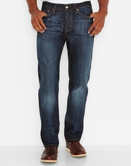 Levi's Men's 514 Straight Low Rise Regular Fit Straight Leg Jeans - Shoestring