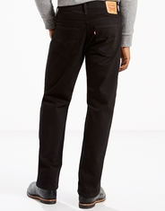 Levi's Men's 569 Loose Straight Stretch Low Rise Loose Fit Straight Leg Jeans - Black (Closeout)