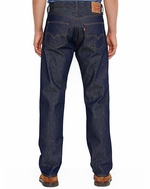 Levi's Men's 501 Original Shrink to Fit Mid Rise Regular Fit Straight Leg Jeans - Rigid Indigo