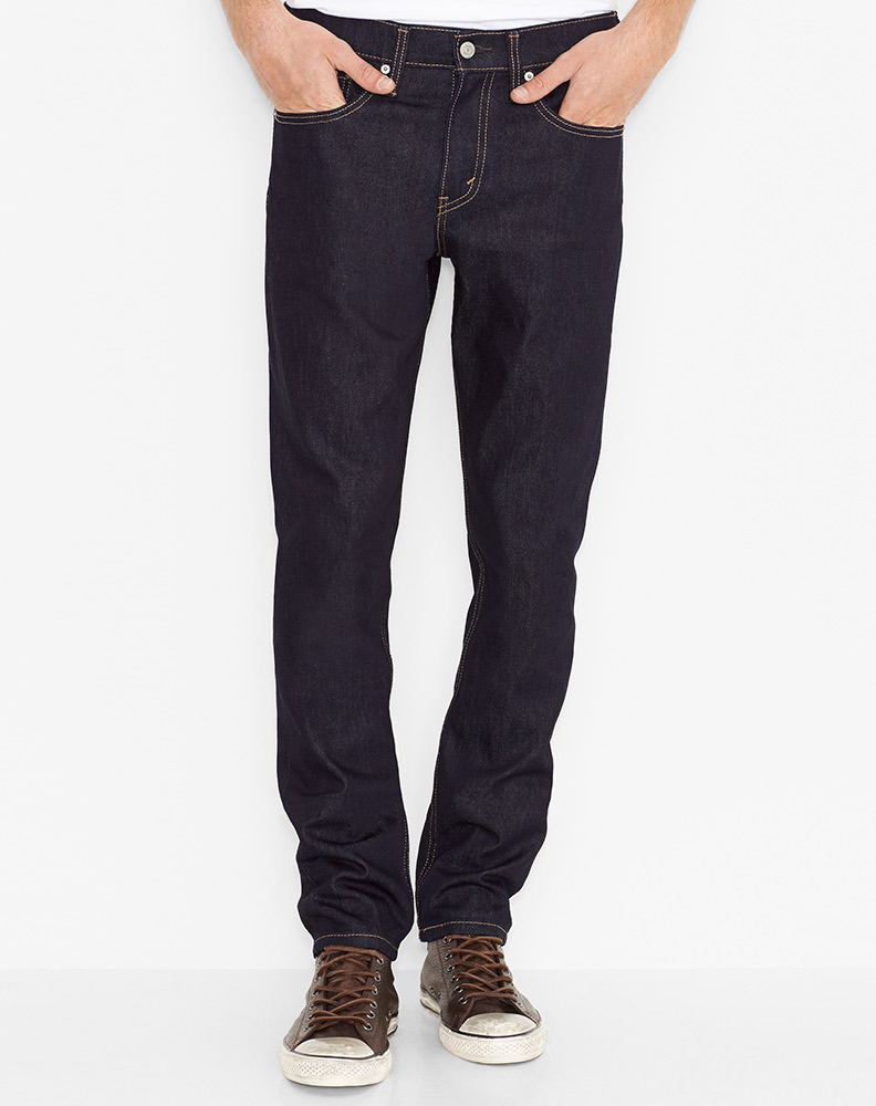 Levi's Men's 511 Slim Stretch Low Rise Slim Fit Slim Leg Jeans - Dark Hollow