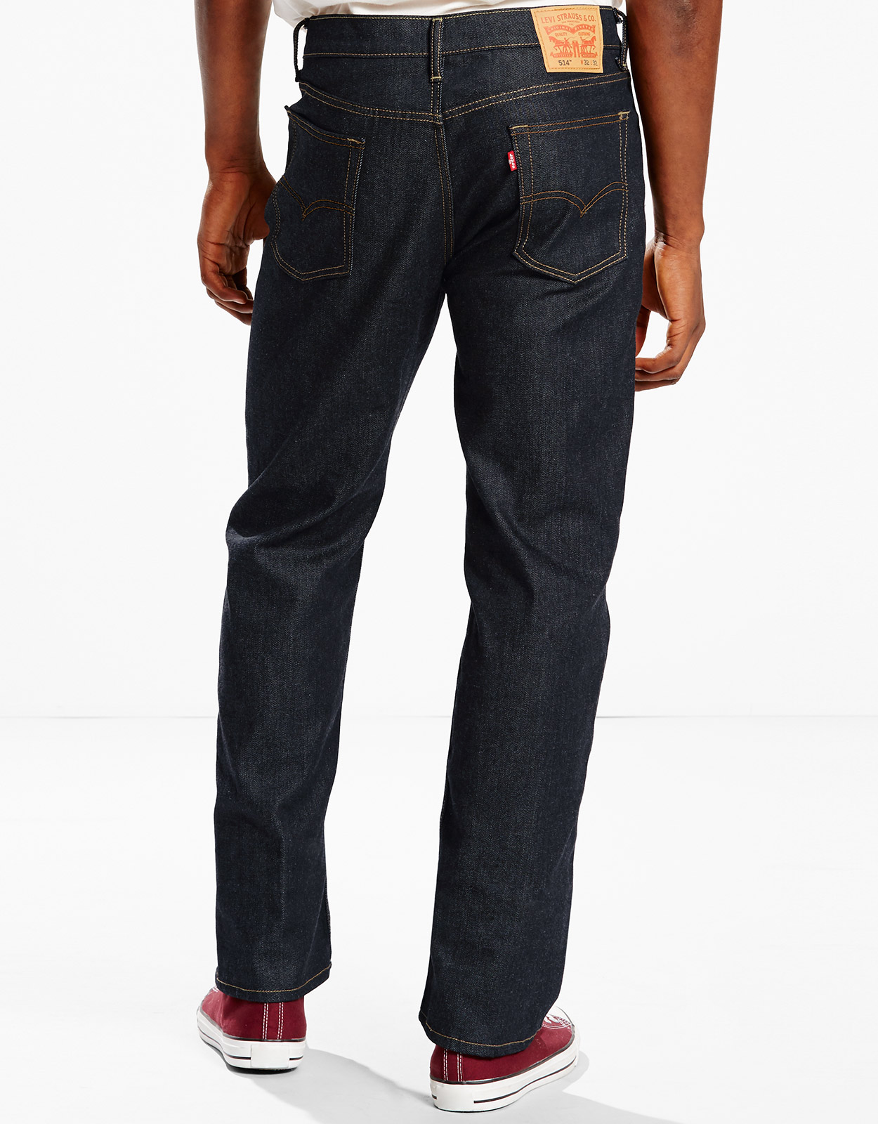 Levi's Men's 514 Straight Fit Jeans - Tumbled Rigid