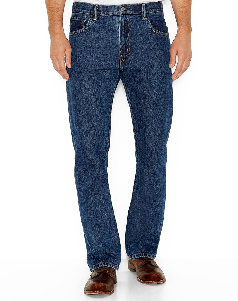 Levi's Men's 517 Boot Cut Jeans - Dark Stonewash