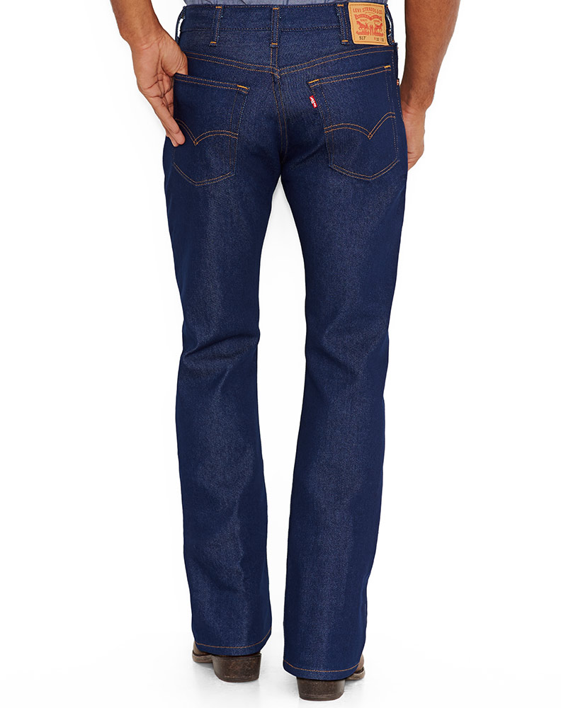 Levi's Men's 517 Boot Cut Jeans - Indigo Flex