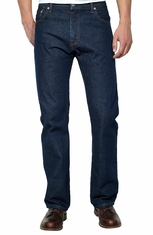 Levi's Men's 517 Bootcut Mid Rise Regular Fit Boot Cut Jeans - Rinse