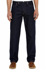 Levi's Men's 550 Relaxed Mid Rise Relaxed Fit Tapered Leg Jeans - Rinse