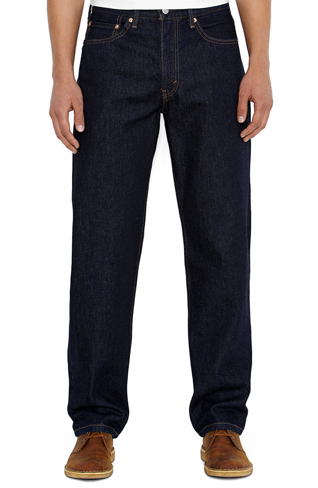 70d74deff65d0 Levi s Men s 550 Relaxed Fit Jeans - Rinsed Indigo